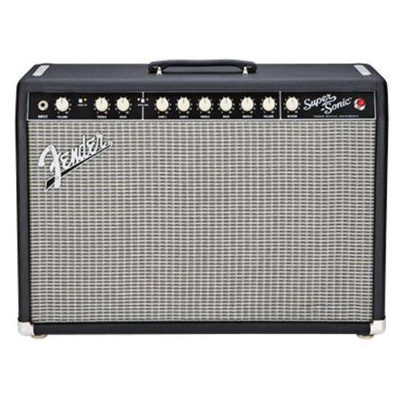 Amplificador Fender SuperSonic™ 22 Combo, Black, 230V EUR