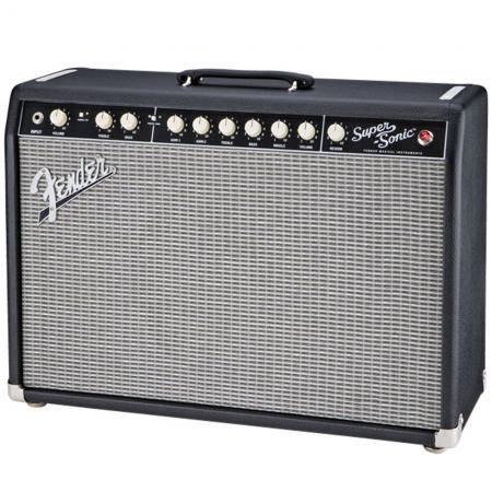 Amplificador Fender SuperSonic™ 22 Combo, Black, 230V EUR