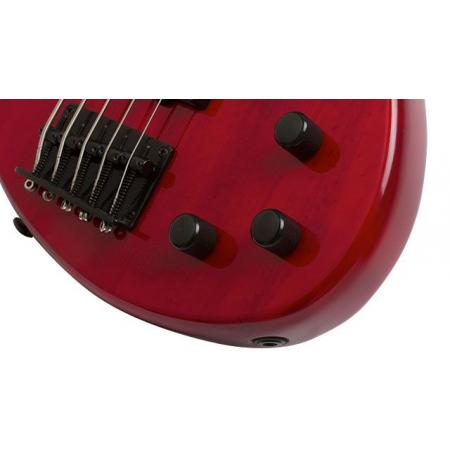 Toby Deluxe IV Translucent Red