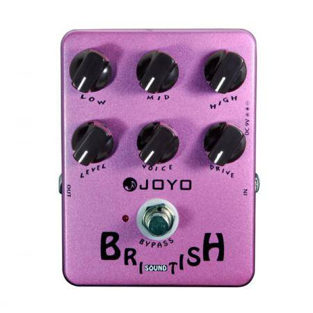 Joyo JF16 British Sound Pedal guitarra