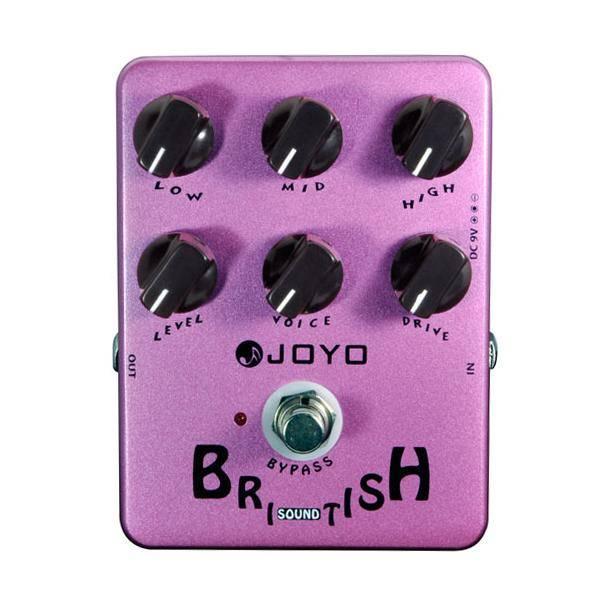 Joyo JF16 British Sound Pedal guitarra