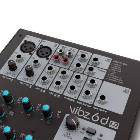LD SYSTEMS VIBZ 6 D Mesa Directo