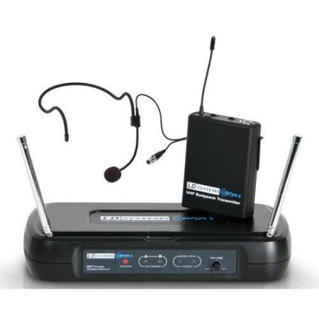 LD SYSTEMS ECO 2 BPH1 Microfono Inalambrico de Diadema
