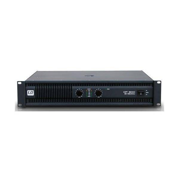 LD SYSTEMS DEEP² 600 Etapa de Potencia 2 Canales LDDP600