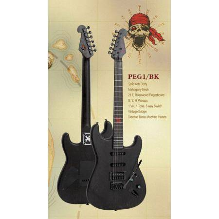SX Pirate Series EG1BK Guitarra eléctrica