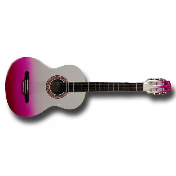 Gypsy Rose Pink Burst Guitarra clásica
