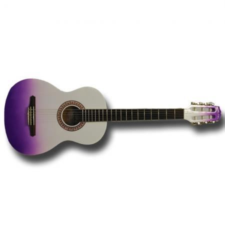 Gypsy Rose Purple Burst Guitarra clásica