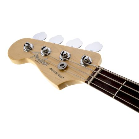 American Standard Precision Bass® Left-Handed, Rosewood Fingerboard, 3-Color Sunburst