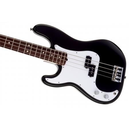 American Standard Precision Bass® Left-Handed, Rosewood Fingerboard, Black