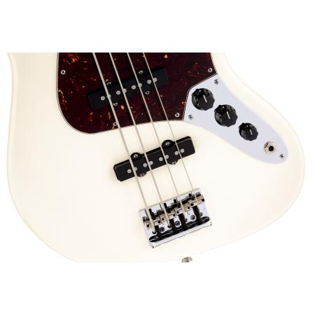 Fender American Standard Jazz Bass, Maple Fingerboard, Olympic White
