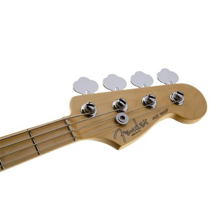 Fender American Standard Jazz Bass, Maple Fingerboard, Black.