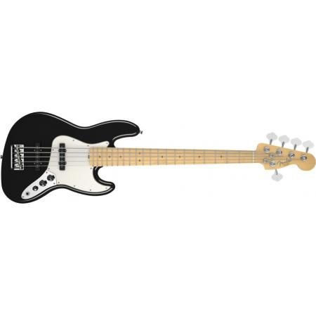 American Standard Jazz Bass® V (Five String), Maple Fingerboard,