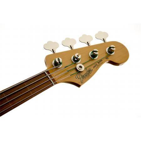 Fender American Jaco Pastorius Jazz Bass, Fretless, Pau Ferro Fingerbo