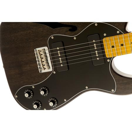 Modern Player Telecaster Thinline Deluxe, Maple Fingerboard, Bl