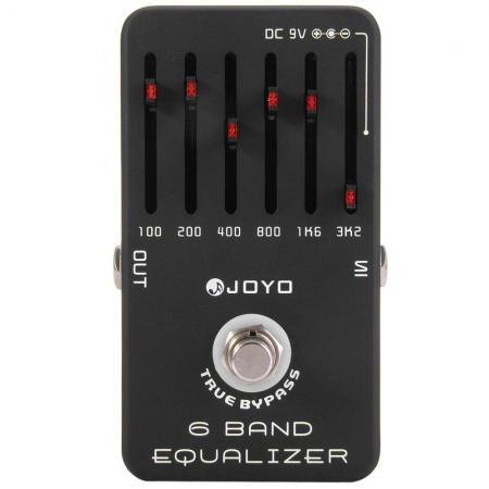 JOYO PEDAL GUITARRA  JF11 6 BAND EQ