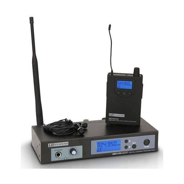 LD SYSTEMS MEI-100G2 Sistema de Monitoraje inalámbrico In-Ear