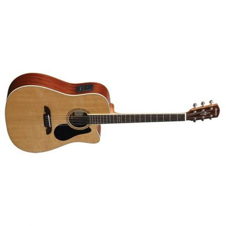 AD60CE Artist Dreadnought Natural ALVAREZ