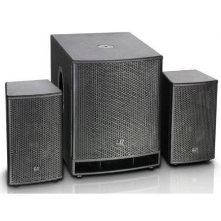 """LD SYSTEMS DAVE 18 G3 Sistema PA Amplificado 18"""" con DSP"""