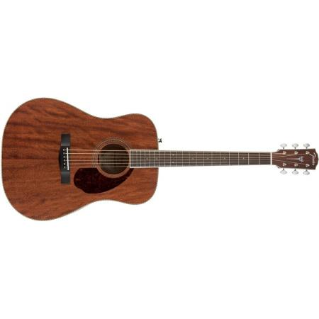 Fender PM-1 Standard Dreadnought NE, All-Mahogany Guitarra eléctroacústica