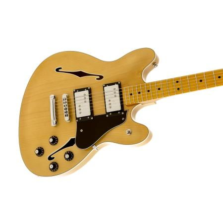 Fender Starcaster, Maple Fingerboard, Natural
