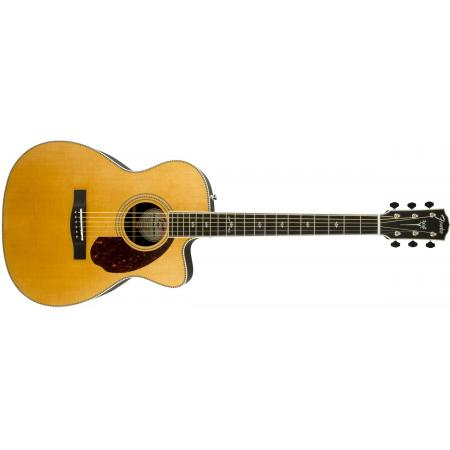 Fender PM-3 Deluxe Triple-0, Natural Guitarra electroacústica