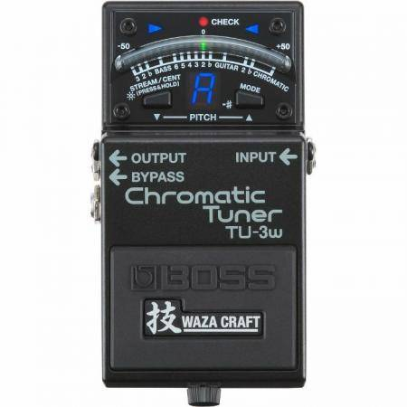 Boss TU-3W Waza Craft Pedal guitarra