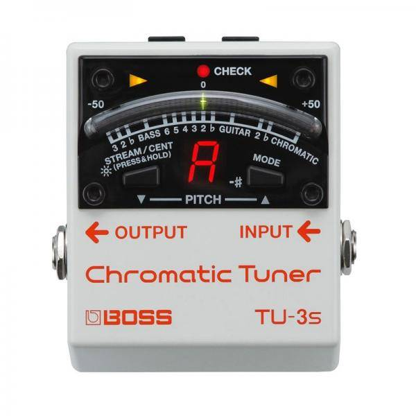 Boss TU3S Floor Tuner Pedal guitarra