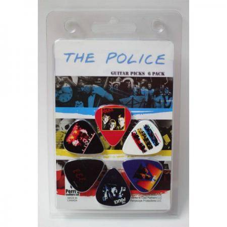 PACK 6 PÚAS COLECCIONABLES PERRI'S THE POLICE