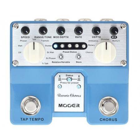 Mooer Reverie Chorus Pedal guitarra