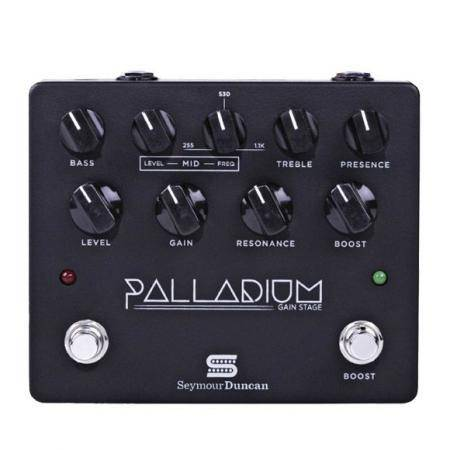 SEYMOUR DUNCAN PALLADIUM BLACK GAIN STAGE PEDAL GU