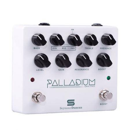 Seymour Duncan Palladium White Gain Stage Pedal guitarra