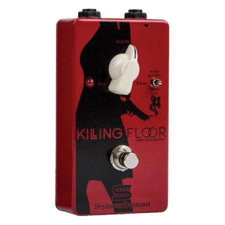 SEYMOUR DUNCAN KILLING FLOO HIGH GAIN BOOS PEDAL G