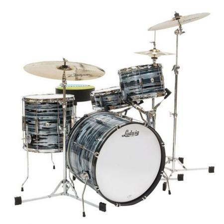 CLUB DATE USA DOWNBEAT L6103LX en Blue Strata LUDWIG