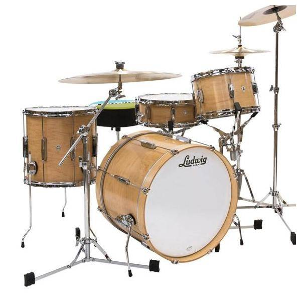 CLUB DATE USA DOWNBEAT L6103LX en Natural Satin LUDWIG