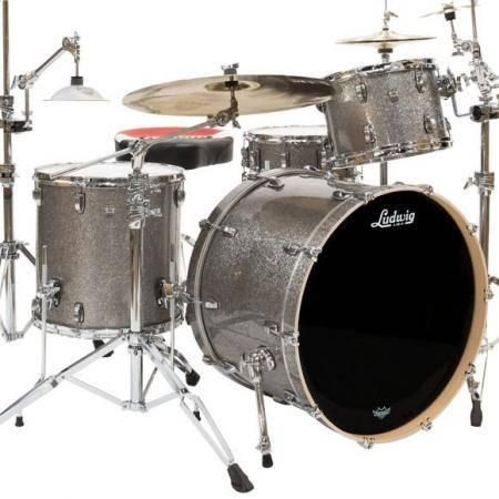 Ludwig Keystone x Pro Beat L7043AX Titanium Glitter