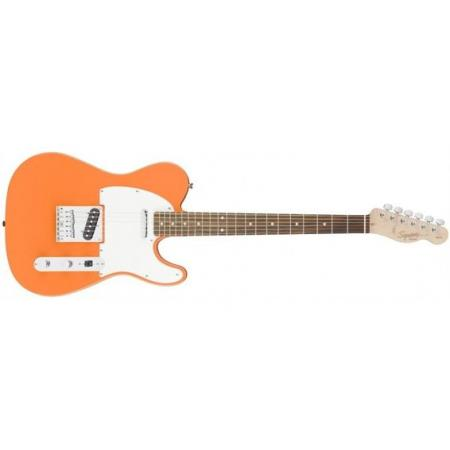 Squier Telecaster Affinity Race Green Guitarra Competition Orange