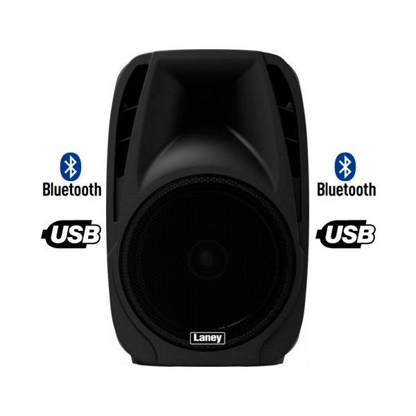 "Laney AH112 Altavoz Activo 12"" Bluetooth y USB"