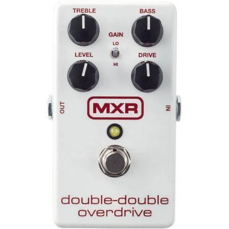 MXR M250 Double Double Overdrive Pedal guitarra