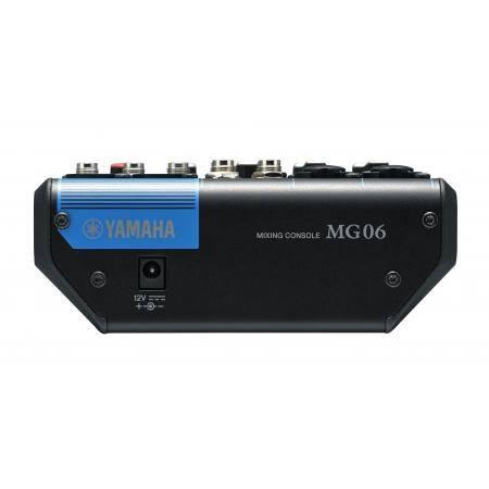 Yamaha MG06YEM Mesa compacta sin efectos