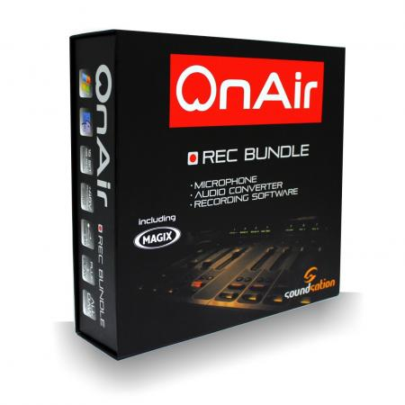 Soundsation onAIR Studio Recording Bundle