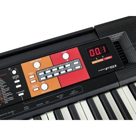 Yamaha PSRF51 Teclado digital