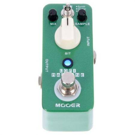 Mooer Lofi Machine Sample Reducing pedal guitarra