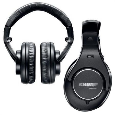 Auriculares Profesionales Shure SRH 840