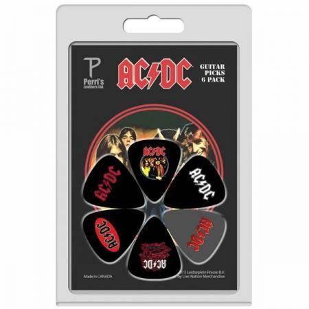 Perri´s set 6 púas AC/DC