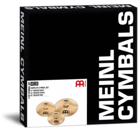 MEINL MCS SET PLATOS MCS HIHAT 14' CRASH 16' Y RID