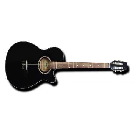 Memphis A95NCETBW Guitarra electroclásica Superflat
