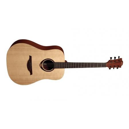 Lag Dreadnought Afinador Integrado Guitarra acústica