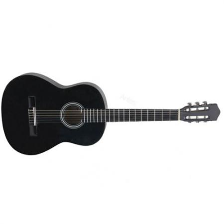 Guitarra Clásica Negra Memphis CG861B