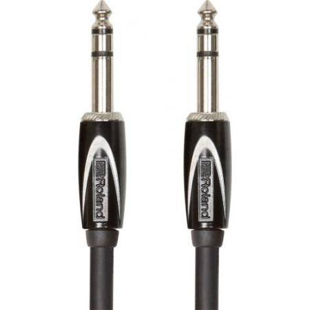ROLAND 3M INTERCONNECT CABLE 1/4 TRS 1/4 TRS BALAN