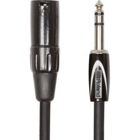 ROLAND 4,5M INTERCONNECT CABLE 1/4 TRS XLR HEMBRA